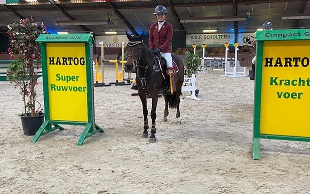Olivia Braaksma winnaar KNHS Hartog Lucerne Trophy Exloo