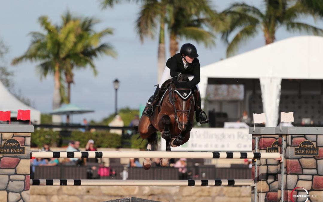 Emily Moffitt wint hoofdrubriek bij Palm Beach Masters