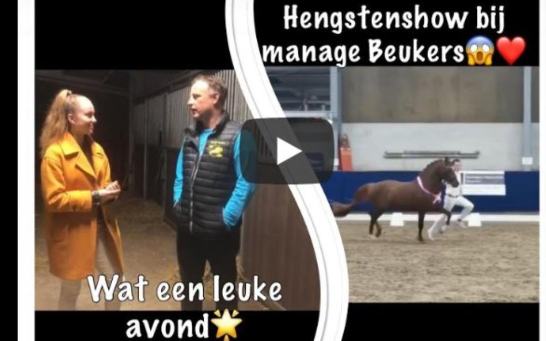 Vlog nr 20: Hengstenshow bij Manege Beukers , wat een leuke avond