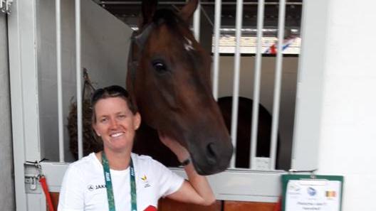 Karin Donckers wil voor de 7e keer naar de Olympiade