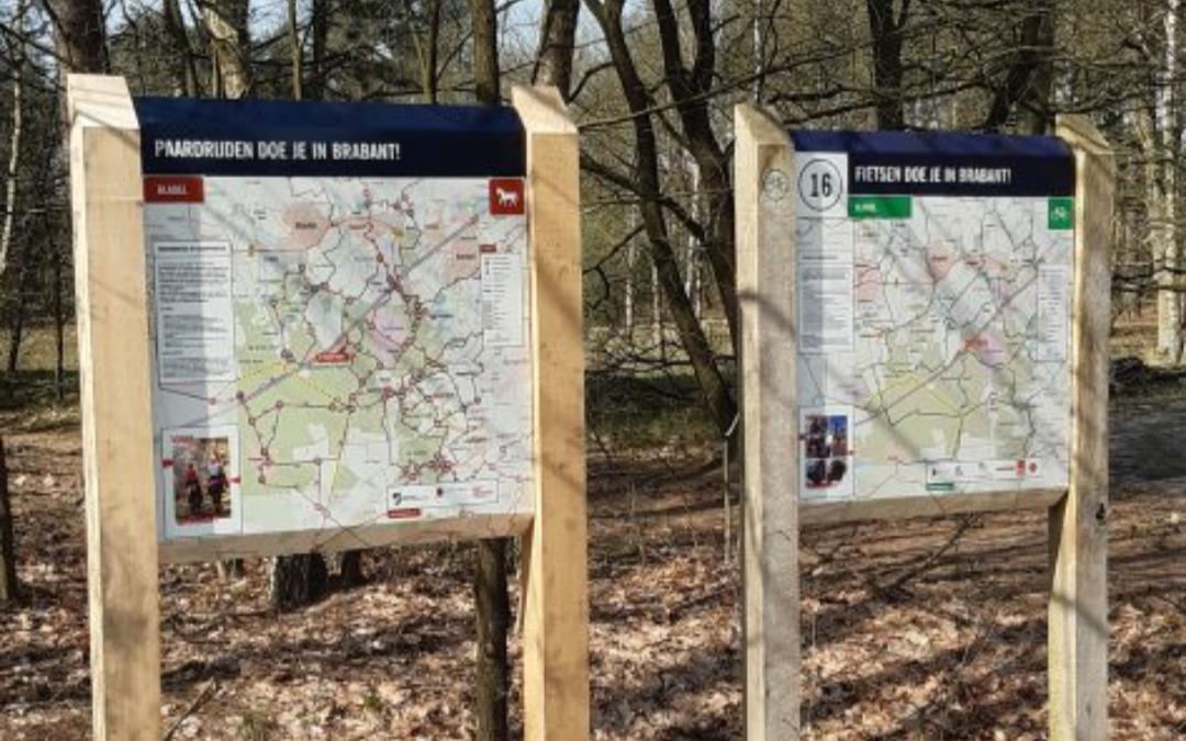 Hilvarenbeek start traject om ruiter-en menknooppuntennetwerk aan te leggen