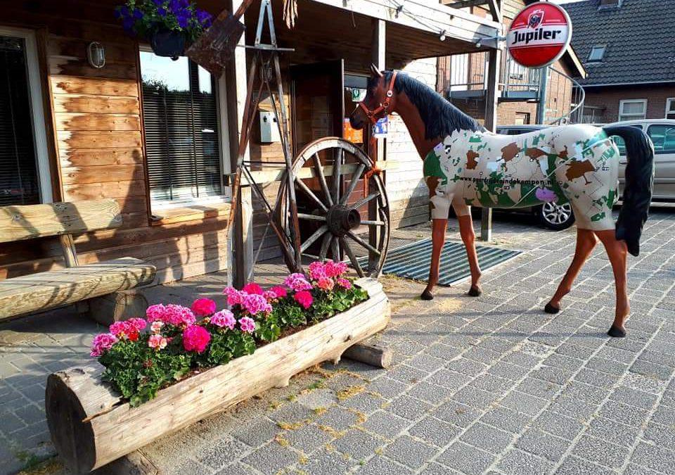 """In de Kempen is het """"Netwerkpaard"""" aangekomen op de eerste locatie"""