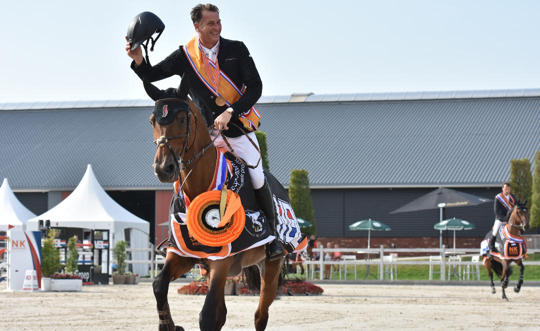 Marc Houtzager opnieuw Nederlands kampioen
