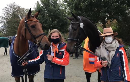 Merel Blom brons op WK jonge eventingpaarden