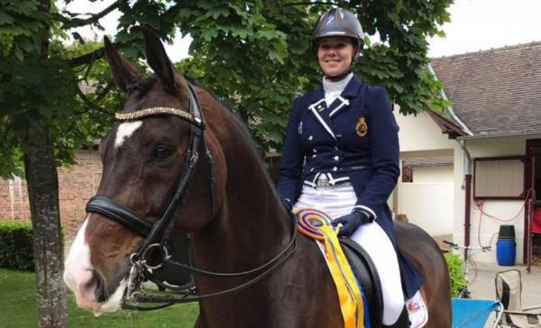 Laurence Roos Belgisch kampioen dressuur