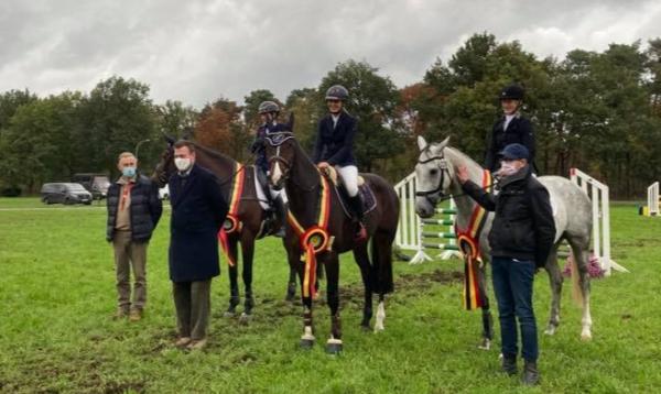 KWPN-paarden vooraan in Belgisch kampioenschap eventing