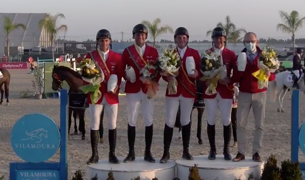 Duitsland wint Nations Cup Vilamoura