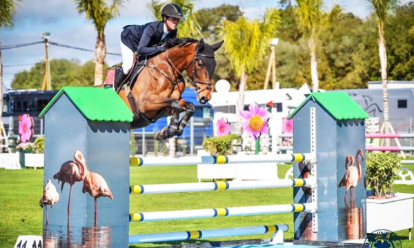 Kim Emmen 1, 2 en 3 met 6-jarige paarden