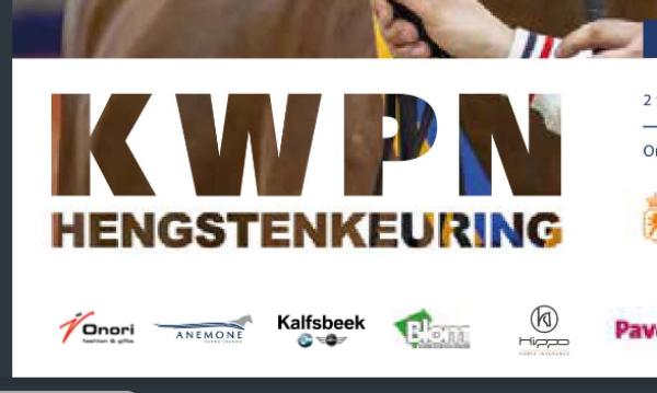 Catalogus KWPN-hengstenkeuring hier te zien