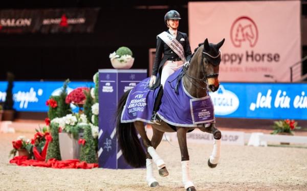 Jessica von Bredow-Werndl verslaat Duitse concurrentie