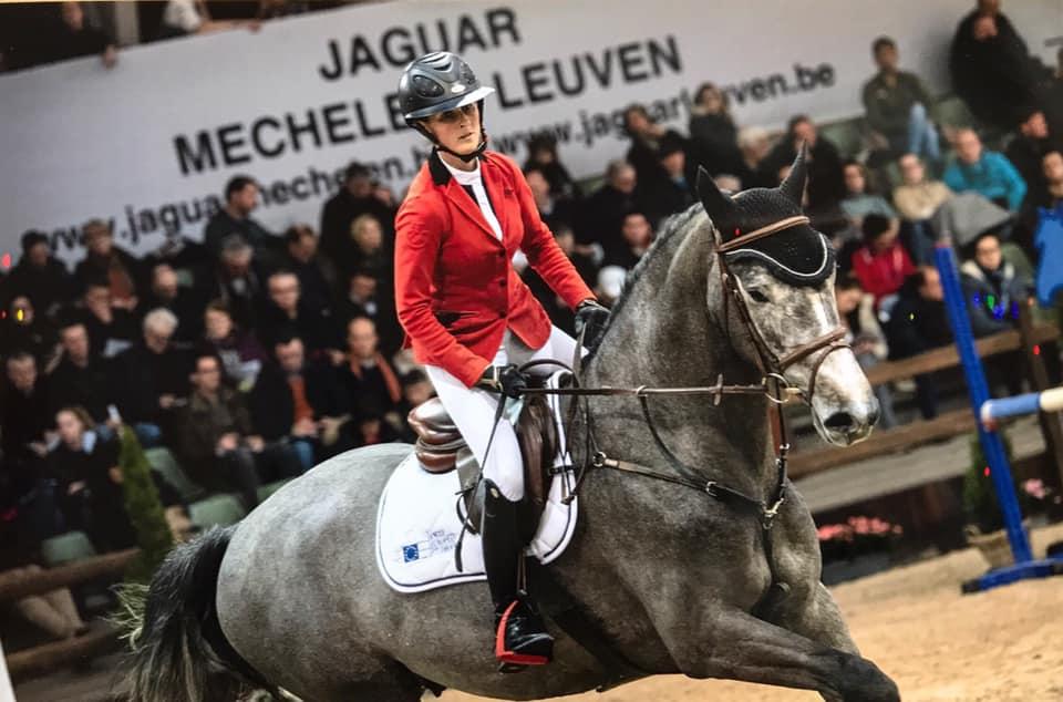 Marie Foulon wint de 5 & 6 jarige rubriek in Lier!
