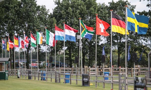 Landenwedstrijd voor Driving Valkenswaard International