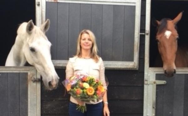 Ruth van der Beek: 'In de omgang met paarden moet je bepaalde kwaliteiten hebben'