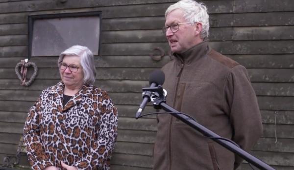 Johan en Jannie Schurink gehuldigd als fokker Scuderia 1918 Don Quidam