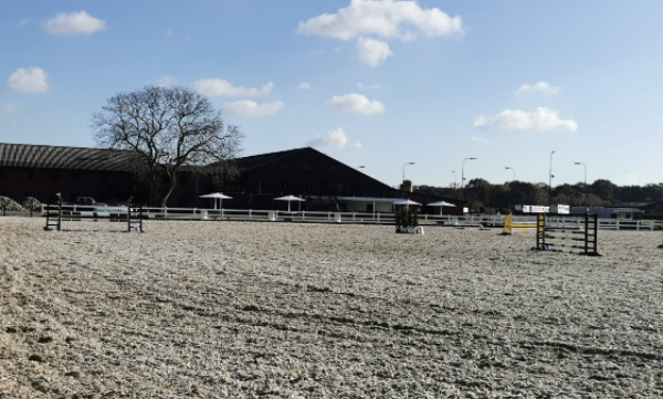 Eventing training naar 15 mei
