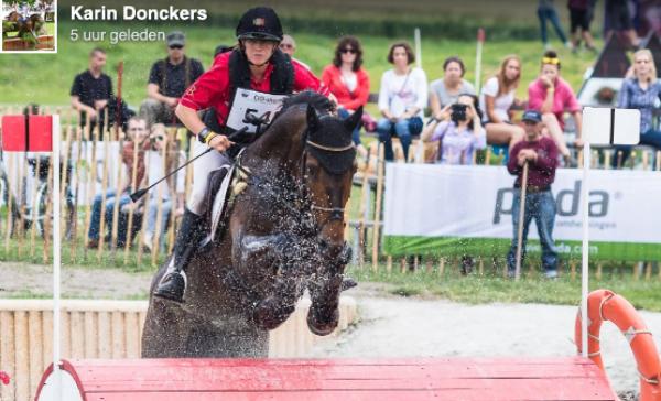 Karin Donckers: geen Olympische Spelen met Fletcha van 't Verahof