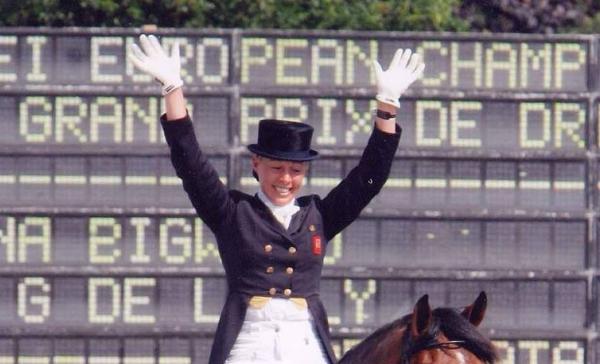 Fiona Bigwood wint met Bordeaux-zoon Fame