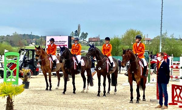 Nederlands junioren derde in Lamprechtshausen