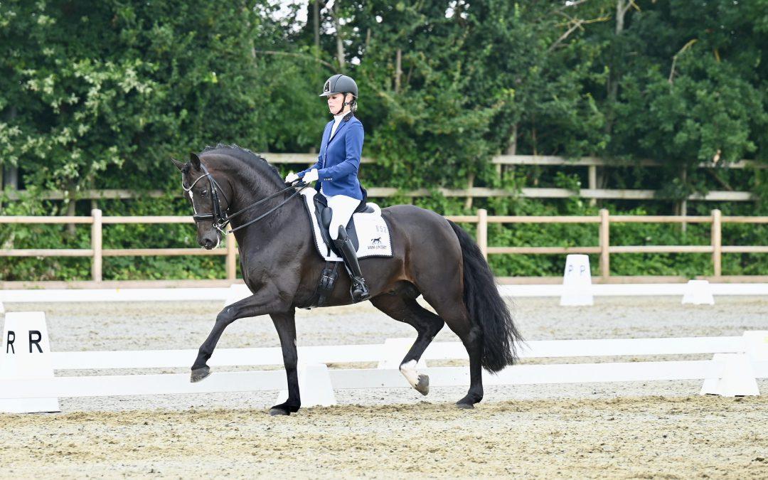 Drie dagen topdresssuur tijdens outdoor regiokampioenschap paarden Zuid-Holland