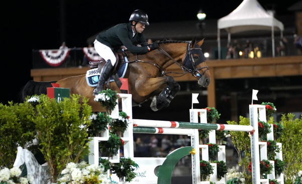 Conor Swail wint in Tryon