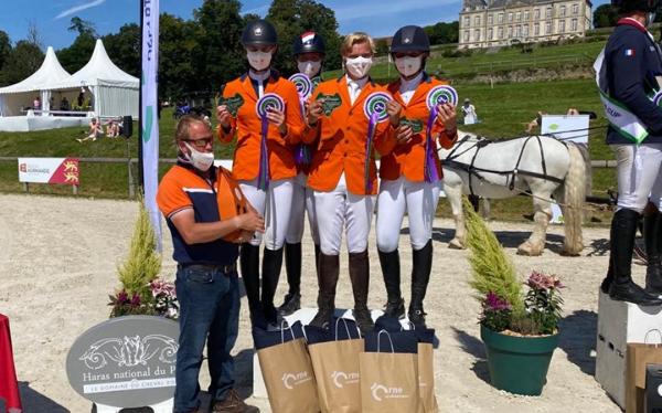 Nederlands eventingteam tweede in 4* Nations Cup Le Pin au Haras