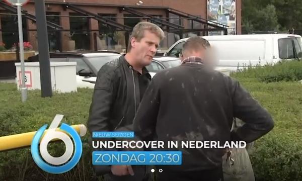 Frans Burgers bij Undercover in Nederland