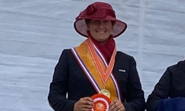 Melanie van de Bunt pakt vierde Hippiade-titel