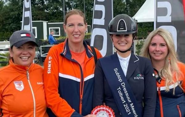 Melissa Janssen wint twee keer in Tolbert