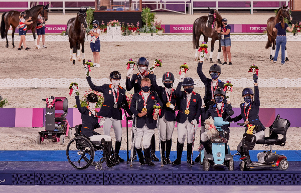 Nederland wint zilver na Groot-Brittannië en voor Verenigde Staten
