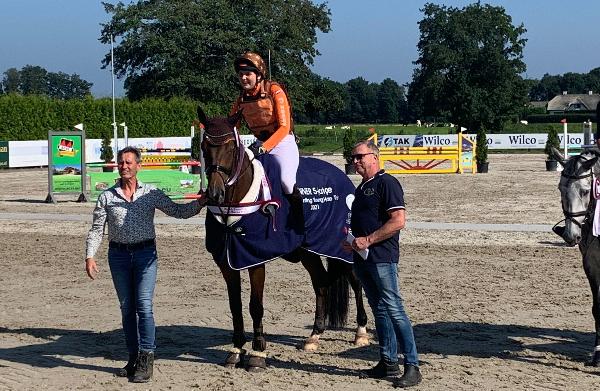 Kristy Snepvangers beste bij Dutch Eventing Young Horse Trials